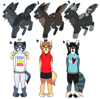 Adoptables by minttei