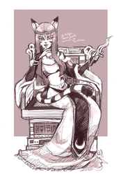 COM : Cleo The Royal by whitmoon