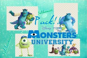Monster Inc University-pack png! by Locacenatica