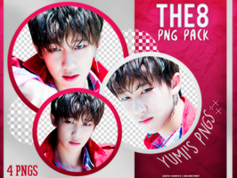 PNG PACK: THE8 (Seventeen) #2 by Hallyumi