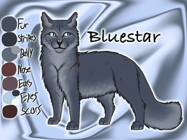 Bluestar of ThunderClan - A Dangerous Path by Jayie-The-Hufflepuff