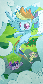 Flying lessons by TheNecroBalam
