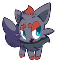 Zorua by SilviShinyStar