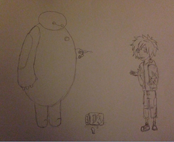 Peanut Allergy (uncolored) by Icestromflash