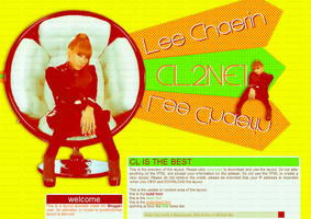 LAYOUT : 2NE1 - CL by chazzief