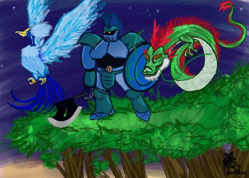 Dragon Warrior Monsters GIF by Rorschach94