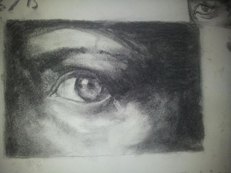 Charcoal study by tta269