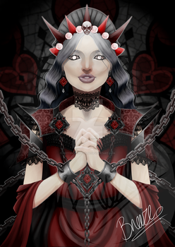 Gothic Queen by rotten-jelly-babie