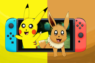 Let's go Pikachu and Eevee by pikachuandpichu106