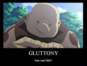 Eating Gluttony