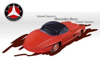 Mercedes-Benz 300 SL Roadster by ahmednayyer