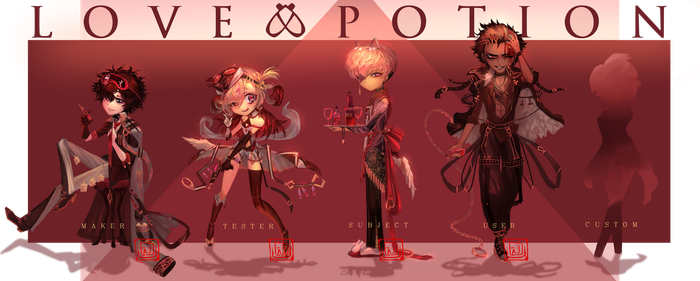 Love Potion(closed) by Faesu