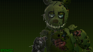 Virtual Springtrap v4 (4k) by TF541Productions