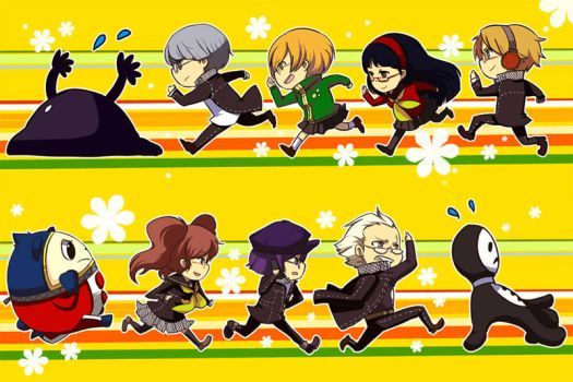 Persona 4 bookmarks by ryo-hakkai