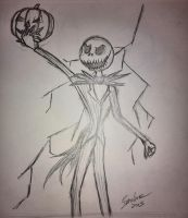 Jack Skellington by The-B-Meister
