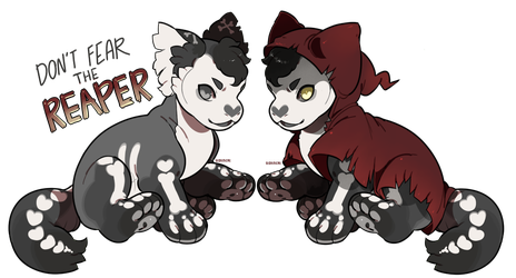 Don't Fear the Reaper Plush Dragon Auction CLOSED by stormcat