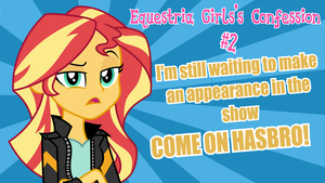 Equestria Girl's Confession #2: Still Waiting! by kingdark0001