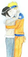 Naru and Hinata...kissing by Thirrinaki