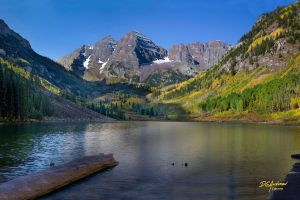 Maroon Bells by DGAnder