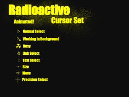 Radioactive Cursor Set by kath660