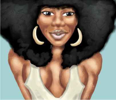 afro obsession by hstmhoze