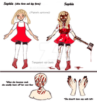 [Reference Sheet] Slaughtered Sophie. by AnjuDere