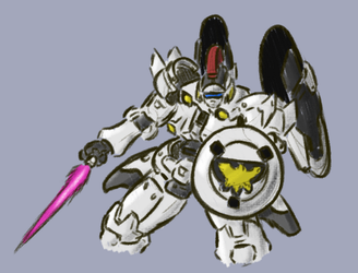 Tallgeese Doodle by Deterex525