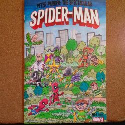 Spider-Man sketch cover by johnnyism
