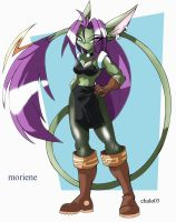 Moriene the Talis by ChaloDillo