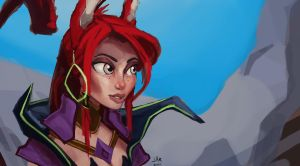 WildStar - Aurin color by Jar-cold-Nonsense