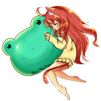 Frogs are cute by LucciolaCrown