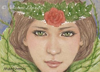 Queen of Thorns - sketch by MayumiOgihara