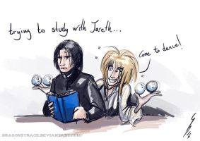 Please, let me read, Jareth ... by DragonsTrace