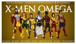 X-Men Omega Team Redesigns by Femmes-Fatales