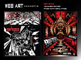 Biftekk-web art-presentation by R1Design