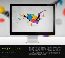wallpaper 62 magnetic fusion by zpecter