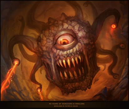 Beholder - Dungeons and Dragons by ARTdesk