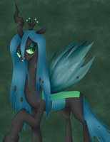 Queen Chrysalis by Pencil13