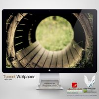 .TUNNEL. Wallpaper by enemia
