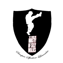 Ministry of Silly Walks Logo by Rogue-00