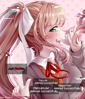 Just Monika. by Smeoow