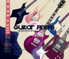 GUitAR PNG'S by Likethesong