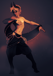 Dance in the ashes by LiLaiRa