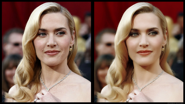 .:Kate Winslet Retouch:. by GoldenHeavens