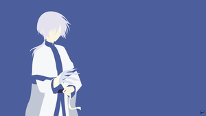 Kija (Akatsuki no Yona) Minimalist Wallpaper by greenmapple17