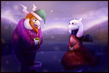 Undertale: Once a Christmas Eve... by Cleasia