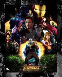Poster: Avengers Infinity War | 1 by 4n4rkyX