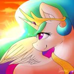 Princess Celestia / Sunrise by FelicityDraws
