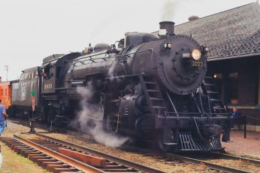 Soo Line 1003 at Edgerton WI. by PRR8157