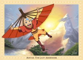 Aang: The Avatar by AmberDust